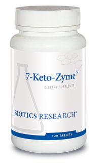 7-Keto-Zyme™ - 120 Tablets